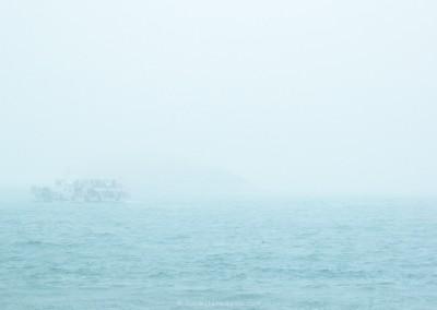 A Rough Sea in Qingdao