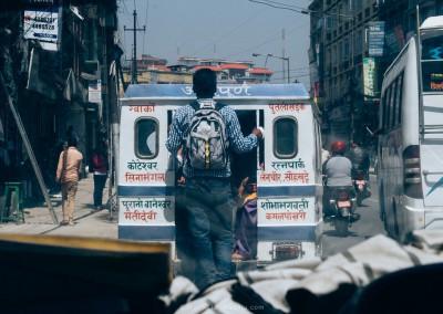 Tuktuk in Kathmandu-1