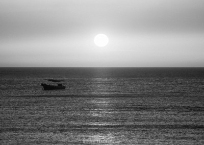 Sunset Over the Ocean in Weihai-2