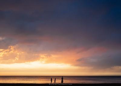Sunset Over the Ocean in Weihai-1