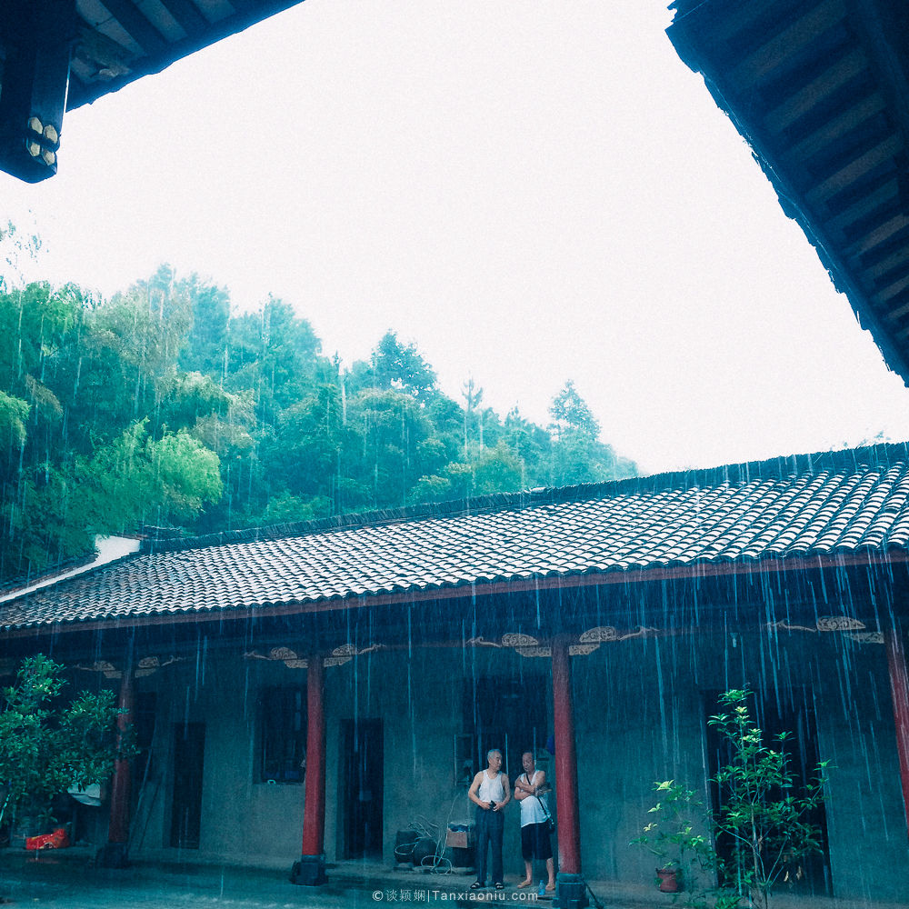 The rainy season in Jiangxi| Photo by Phone, Jiangxi, China