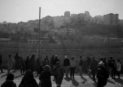 the Shuafat Refugee Camp