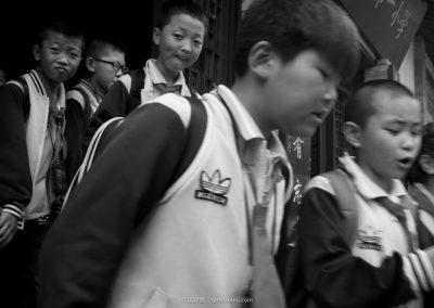 A Primary School in Tianshui 天水市解放路第一小學