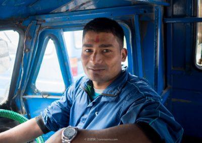 A Tuktuk Driver