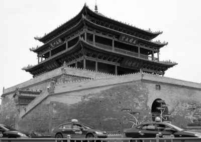 Bell and Drum Tower in Zhangye 張掖鐘鼓樓