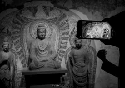 Relics of Tiantishan Caves Moved to Gansu Provincial Museum  甘肅省博物館